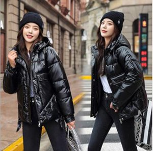Wholesale women's winter fashion new thickened warm student bright short cotton coat