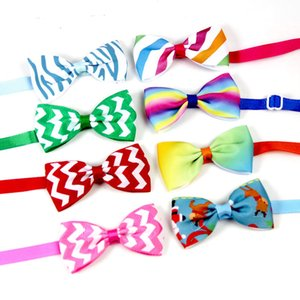 Dog Pet Bow Tie Butterfly Junction Bowknot Necktie Collar Ties Pets Jewelry Plastic Button Dot Ribbon Each Seasons Adjustable 1 22xd B2