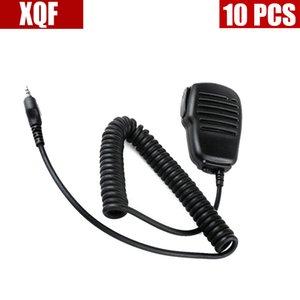 XQF 10шт Walkie Talkie микрофон в руке PTT для радио G6 Midland / G7 gxt550 gxt650 lxt80