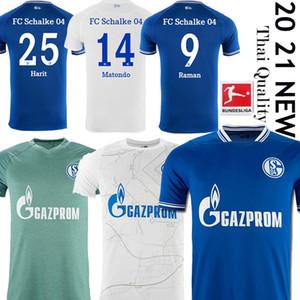 20 21 Schalke 04 Soccer Jerseys 2021 2020 Home Third Serdar Ozan Harit Raman Bentaleb Mc Kennie Shouress Shirts Kutucu