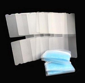 Хранение Портативный складной ящик маска для хранения Case Временная папка PP пластичный лист Организатор Защитная Dust Одноразовая маска для лица Clips