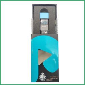 플러그 재생 DNA 세라믹 코일 카트 childproof 마우스 피스 포드 일회용 펜 배터리 카트리지 플러그 PLAY 키트에 스냅