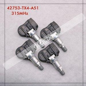 타이어 RPESSURE SENSOR 2013 2014 MDX는 315MHz 42753-TX4-A51 TPMS 센서 타이어 압력 1dSc 번호