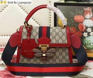 Liujingang3 Small handbag 476541 red Top Handles Boston Totes Shoulder Crossbody Belt Backpacks Mini Bag Luggage Lifestyle Bags