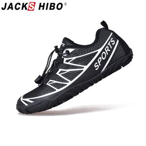 Jackshibo Hombres Senderismo aguas arriba calza los cargadores al aire libre zapatos de trekking turismo de camping botas de montaña Deportes zapatillas de deporte para los hombres