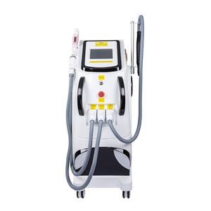 3 IN 1 vertical de 360Magneto-óptico máquina de tatuaje depilación láser + pico + RF mejor OPT SHR depilación eliminación máquina pigmentación