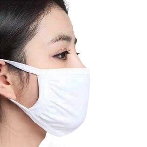 Schutz Black Cotton Mask Anti Staubbelastung Unisex Gesicht Mund Masken Waschbar Wiederverwendbare für Hausarbeit Rauch Radfahren Camping Ski-Wärmer