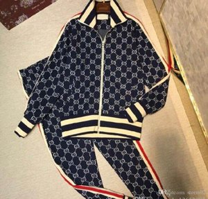 2020 New Men's Tracksuits printing sweatsuit classic fashion real photos top quality men casual tracksuit m-3xl