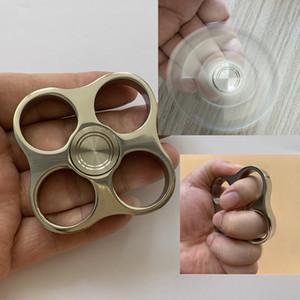 plumeros de nudillo de acero inoxidable pulido espejo de la persona agitada Spinner de espesor 10 mm espejo pulido Peso del casquillo de acero inoxidable 135g