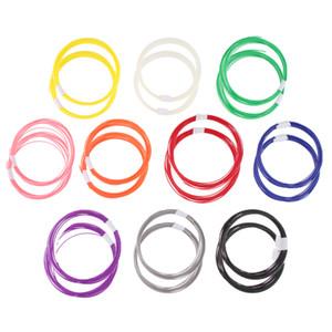 20pcs 10m ABS 1.75mm Filament 10 Colors For 3D Printer Printing Drawing Pen