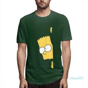 Cotton Os Simpsons desenhador de moda camisas camisas das mulheres dos homens de manga curta camisa Os Simpsons Impresso camisetas Causal c3709c07