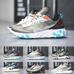 2019 new react element 87 Undercpver x Upcoming men fashion  women shoes running sports sneakers shoes SA56M