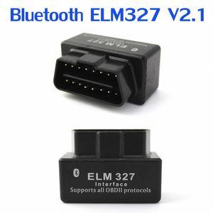 ferramenta de diagnóstico Hot Sale carro Scanner New ELM327 Mini Bluetooth V2.1 Código OBD2 Leitor Car Diagnóstico instrumento de alta qualidade PPG #