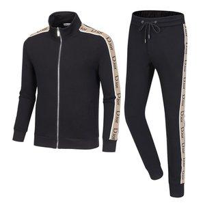 Italy New 2020 Men's luxury full zip designer tracksuit man medusa sport suit Men jogger set fashion mens hoodies sweatshirts outdoor sports