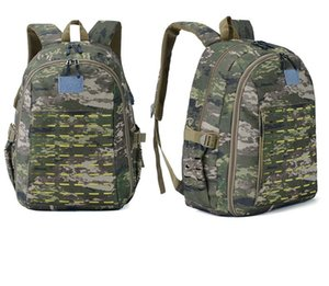 Men Women Outdoor Sports Backpacks Oxford Cloth 3D Camouflage Field Bags Khaki Color Climbing Bag New Arrival 47hy L1