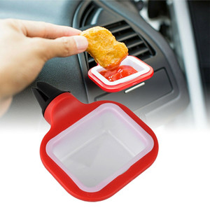 1Pc Universal Vent In Car Drinks Cup Sauce Dip Clip In-car Sauce Holder for Ketchup Dipping Sauces