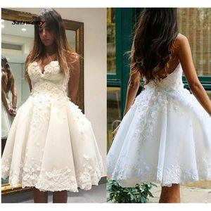 Wedding Dress Lace Wedding Gown Sweetheart Ball Gown White Ivory Summer Vestido De Noiva Bridal Dresses Robe De Mariee