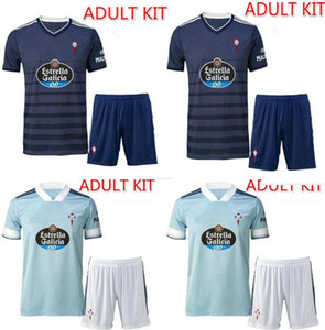 nouveau 20 21 RC Celta de Vigo Soccer Jersey Lobotka Iago Aspas Santl MINA Football Shirt SISTO BOUFAL Espagne 2020 21 VIGO CELTA