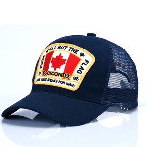 D2 los casquillos gorra de béisbol sombrero nuevo lujo para hombres y mujeres famosas marcas de algodón ajustable del cráneo del golf del deporte del sombrero curvo
