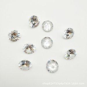 nOqLD blanca y fina blanca suelta de diamantes pequeña 3a Ronda de circón piedra desnuda zirconi pequeña 3a Ronda de circón desnuda piedra zirconia artificia simulación