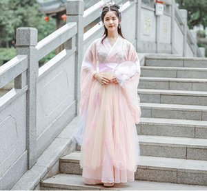 Hanfu femmes Costumes de danse chinoise dynastie Qing Costume chinois traditionnel hanfu robe chinoise Daily Robes cosplay robe