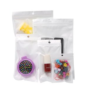 Embalagem Tamanho mulit sacos de comida Moisture Barrier Bags Sealing Bolsa Alimentação reutilizável frontal de plástico transparente suporte Up Bag