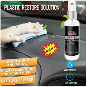 car repair agent 100ml Car Care Interior Polish Wax Leather Seat Sofa Panel Dashboard Tire Cleane care products #Zer