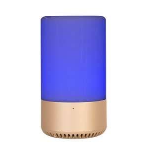 APP Touch Control Wireless Bluetooth speaker Home speaker TF card AUX originality speaker RGB Emotional escort Music Bulb LED Table Lamp DHL
