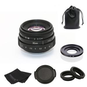 f1.6 35mm de montaje C cámara CCTV lente II + C montaje a N1adapter anillo + Para Nikon1