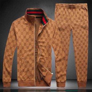 Designer Tracksuit Men Luxury Sweat Suits Autumn Brand Mens Jogger Suits Jacket + Pants Sets Sporting Suit Hip Hop Sets High Quality