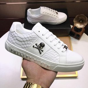 DesignersPHILIPPPLEINPPMen s Shoes High Quality Drop Ship Breathable Fast Delivery Low Top with Origin Box Lace-up Com