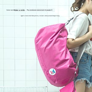 AU32t Korean style large capacity travel folding mountaineering bag multifunctional Mountaineering bag backpack folding backpack customizabl