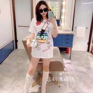 Chemisier en coton à manches courtes pour les femmes nouvel étudiant coréen T-shirt loose pour les femmes célébrité web printemps / été 2020