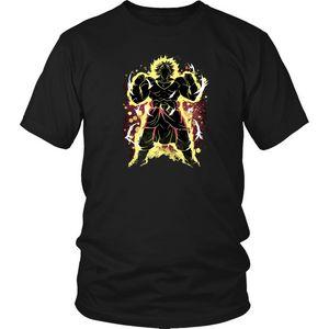 Refroidir Super Saiyan Broly shirt Broly T-shirt Dragon Ball Broly T-shirt de bande dessinée T-shirt de mode d'hommes Nouveau T-shirt unisexe