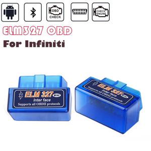 Pour INFINITI Q50 Q60 G37 G35 QX80 QX70 QX50 Q70 FX35 FX / M / EX ELM327 OBD2 Scanner Torque Android Bluetooth OBD2 Outils de diagnostic