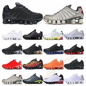 2020 SH0X TL Üçlü Siyah Beyaz Metalik gündoğumu Viotech voltluk pastel Sarı Hız Kırmızı Neymar Buharı Run Spor Sneakers Ayakkabı Koşu
