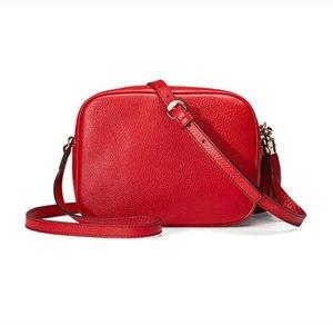 Fashion Designer femmes véritable noir Marmont en cuir rose rouge GG or SOHO DISCO épaule sacs à main sac sac à main avec des numéros de série Box