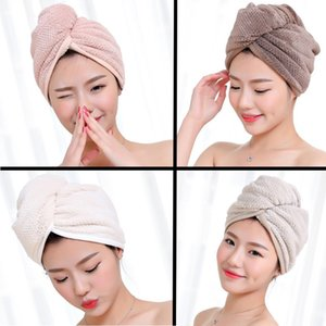 Microfiber Soft Hair Fast Drying Towel Quick Magic Dryer Wrap Turban Swimming Beach Bath Towel Hat Cap