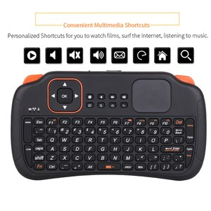 Fly Rato Gaming Keyboard Com Touchpad 2.4G 83keys Mini remoto teclado comandos sem fios para Samsung LG Android TV Box Laptop