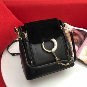 2020 nuovi zaini stile Chloy zaino cuoio genuino di moderne borse borsa stile anello borse moda di alta qualità borsa a mano in vera pelle