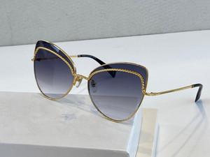 255 Güneş gözlüğü İçin Kadınlar Popüler Güneş Moda Elmas Taş UV Koruma Lens Rengi Kaplama Kedi Göz Çerçeve Kutusu ile gel
