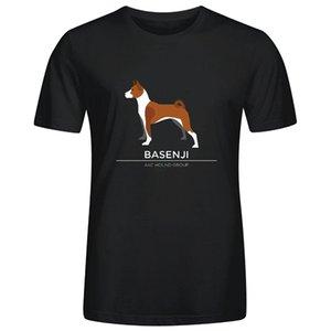 Basenji L40 T-shirts Marque MensTshirt Homme à manches courtes Casual Cool manches T-shirt Mode Homme T-shirts Nouvelle Arrivée