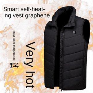 الشتاء التدفئة ذكية الثالثة والعتاد التحكم في درجة الحرارة التدفئة الترفيهية الرياضية صدرية الكهربائية الحرارية سترة