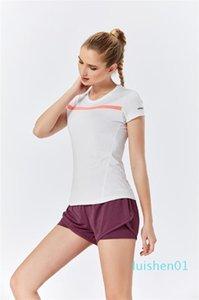 Raibaallu neue Art und Weise 2PCS Set Frauen Kleidung Sexy Sommer kurze Hosen + T-Shirts Polyesterfasern und Spandex l01