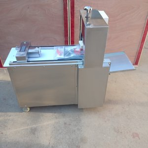 Fully automatic CNC single cut lamb roll machine stainless steel Electric Lamb cutting machinemachine pork slicer price