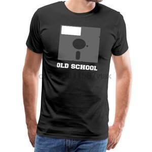 Hombres camiseta Idea Old School Nostalgia de regalos - camiseta premium de los hombres (2) camiseta impresa de tes superior