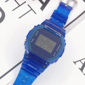 2020 Summer Hot Selling Couple Watches LED Multifunction Analog Single Display Digital Clock reloj mujer Best Gift For Lover Drop Shipping