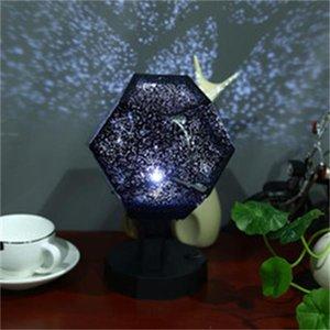 Romántica del proyector ligero de la estrella proyección del cielo Cosmos noche de la lámpara para los niños dormitorio iluminación de la decoración de la novedad Iluminación Gadgets