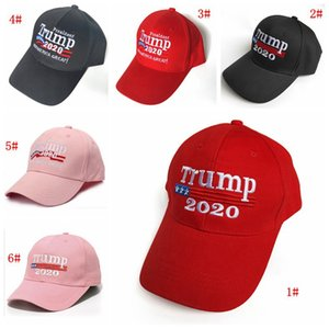 Donal Trump 2020 Baseball Cap Hat Make America Great Hats Trump Election Snapback Hat Embroidery Sports Caps Outdoor Sun Hat DBC BH3883