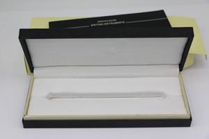 Черное дерево рамка Box с гнездом Pen для Fountain Pen / Шариковая ручка / роллер ручки пенал с гарантийным Руководства